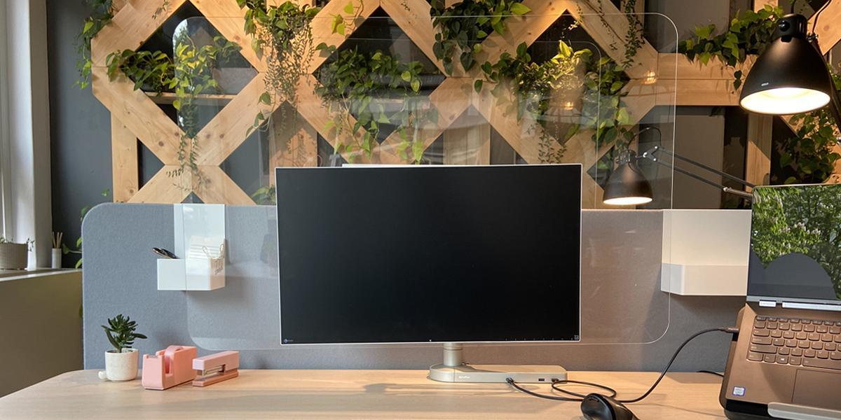 Monitor mit Schutz