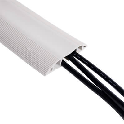 31.150 | Addit cable protector 150 cm 150 | grey | For guiding a maximum of 6 cables. | Detail 1