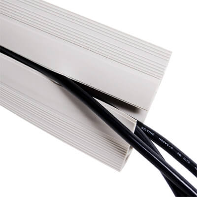 31.150 | Addit cable protector 150 cm 150 | grey | For guiding a maximum of 6 cables. | Detail 2