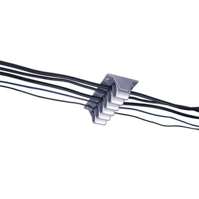 34.302 | Addit cable wave 302 | silver | For guiding a maximum of 10 cables. | Detail 3