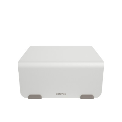45.110 | Addit Bento® monitor riser 110 | white | fixed height 110 mm, max weight capacity 20 kg | Detail 5