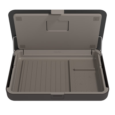 45.903 | Addit Bento® ergonomic toolbox 903 | black | personal storage box, notebook holder, tablet holder and document holder in one | Detail 7