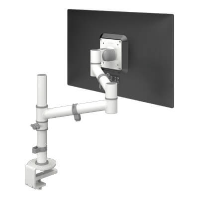 48.120 | Viewgo monitor arm - desk 120 | white | For 1 monitor, adjustable height and depth, with desk mount. | Detail 1