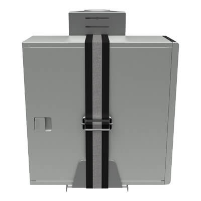 52.432 | Viewmate SFF holder - option 432 | silver | For positioning SFF computers close to other hardware with Viewmate pole mount. | Detail 4