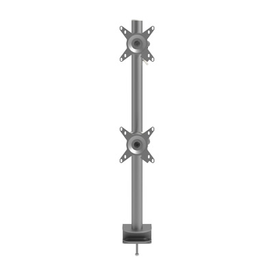 52.672 | Viewmate monitor arm - desk 672 | silver | For 2 monitors, adjustable height, with desk mount. | Detail 5
