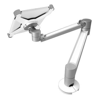 58.030 | Viewlite iPad holder - option 030 | white | For ergonomically positioning an iPad 2, 3 or 4, suitable for Viewlite quick release mount. | Detail 3