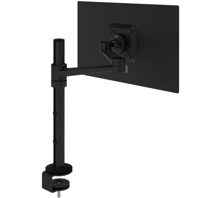 58.123 | Viewlite monitor arm - desk 123 | black | For 1 monitor, adjustable height and depth, with desk mount. | Detail 2