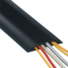 31.153 | Addit cable protector 150 cm 153 | black | For guiding a maximum of 6 cables.