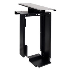32.323 | Viewmate computer holder - desk 323 | black | For vertical and adjustable mounting of small or large computers under the desk.