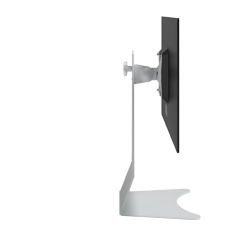 52.500 | Addit monitor stand 500 | white | For 1 monitor, adjustable height, with VESA mount.