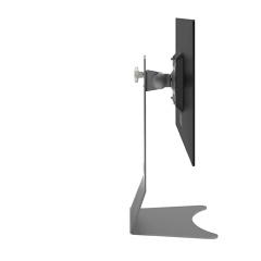 52.502 | Addit monitor stand 502 | silver | For 1 monitor, adjustable height, with VESA mount.