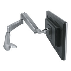 57.142 | Viewmaster monitor arm - desk 142 | silver | For 1 monitor, adjustable height and depth, with desk mount.
